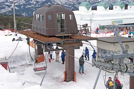 鷲ヶ岳 レインボー第2ペアリフト